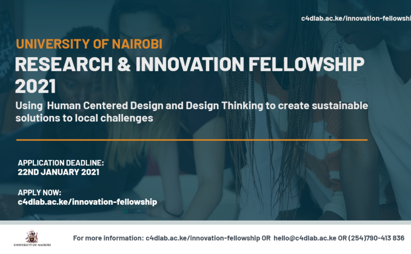 Call for 2021 University of Nairobi Research and Innovation Fellowship now open